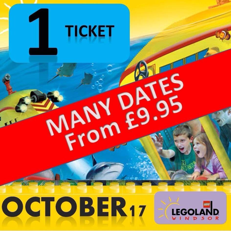 LEGOLAND Windsor Tickets - OCTOBER DATES