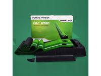 Indoor Outdoor Golf Putting Trainer Portable Golf Practice Mat Putter Trainer