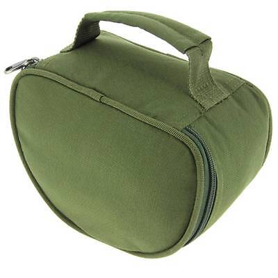 1 x New NGT Deluxe Green Reel Case Bag Carp Pike Fishing Tackle 108 fit Big Pit