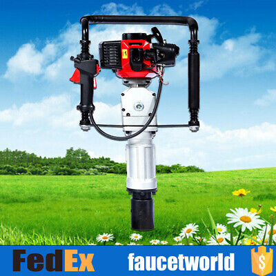 2.3hp Gas Post Driver 52cc 2 Stroke Pile Picket Star Rammer Farm Fence Fencing