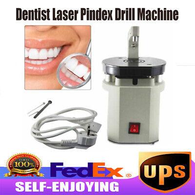 Dental Laser Pin Drill Machine Teeth Driller Lab Pin Planter Pindex System 110v