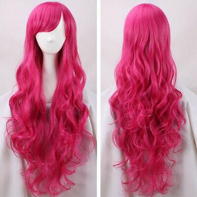 My Little Pony Equestria Girls Fluttersh Cosplay Costume Kostüm Perücke wig Pink