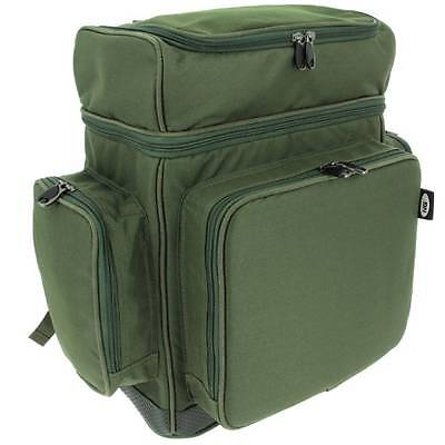 XPR Multi Compartment Rucksack NGT Carp Coarse Fishing Tackle Bag Waterproof