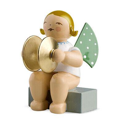 Wendt und Kühn Engel mit Becken sitzend, blondes Haar, 650/11a online kaufen