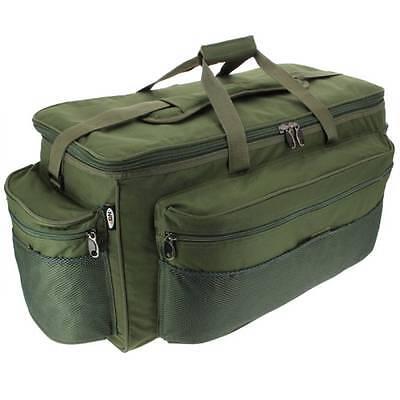 New Gaint XXL Green Carp Fishing Tackle Bag Holdall NGT 093L BARROW BAG