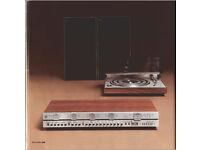 Beosystem 3000, Vintage Bang & Olufsan Hi-Fi separates- record player, amp & speakers