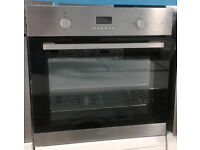 a649 Stainless steel lamona single electric oven comes with warranty can be delivered or collected