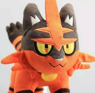 Pokemon Torracat 9 inch Plush Toy Soft Stuffed Animals Doll Sun & Moon Alola