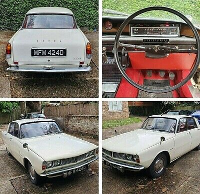 1966 ROVER P6 2000 Manual - Ivory White + Red Interior - Restoration Project