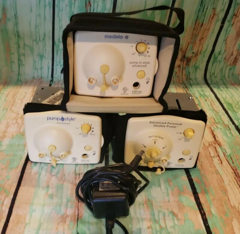 LOT OF 3 Medela Pump In Style Advanced Breast Pump - Motors Only