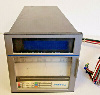 Eurotherm Chessell Lr69323 Strip Chart Recorder Model 346