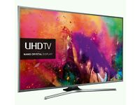 "Samsung 55"" 4k UHD new JU Series LED SMART WI-Fi TV BUILT IN HD FREEVIEW ."