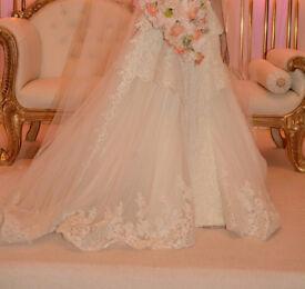 Designer Wedding Dress - Preowned