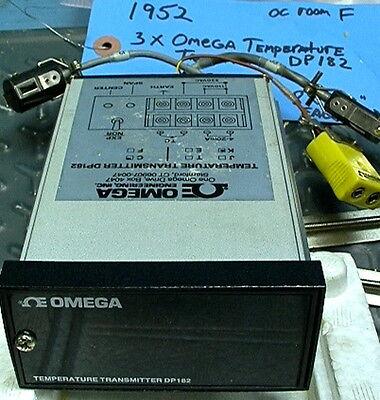 Omega Temperature Transmitter Dp182 4-20ma Current Loop
