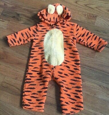 Tiger Unisex Baby Boy Girl Orange Striped Halloween Costume Size 18 Months - Halloween Costumes Baby Boy