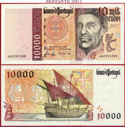 (com) *PORTUGAL  -  10000 ESCUDOS 10.7. 1997  -  P 191b  - UNC