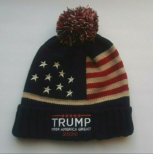 MAGA 2020 Keep America Great Donald Trump Winter Hat Beanie
