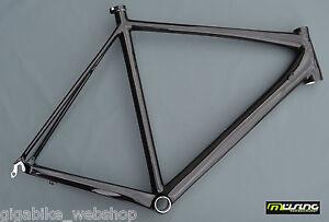 Müsing Team Race Carbon Rennrad Rahmen RH 60cm in UD Carbon glänzend