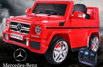 Electric ride on Toy Car licensed Mercedes AMG G65 Remote Control