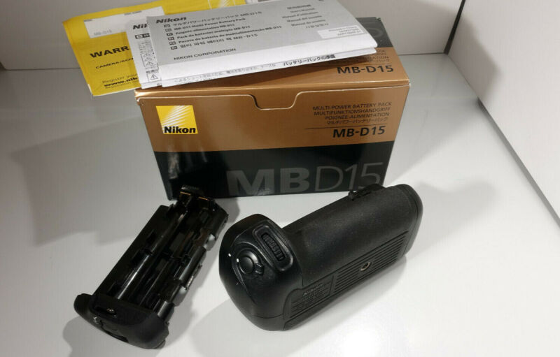 Genuine Nikon MB-D15 Multi-Power Battery Grip for D7200 D7100 - great condition