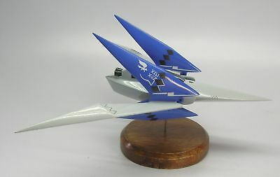 Lylat Arwing Starfox-64 Spaceship Replica Desktop Wood Model Big New
