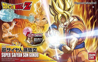 Bandai Figure-Rise Super Saiyan Son Goku Dragon Ball Z Model Kit US Seller USA