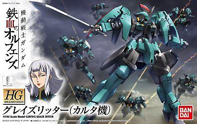 BANDAI HG Gundam IBO 1/144 Carta Graze Ritter 204179 US Seller USA