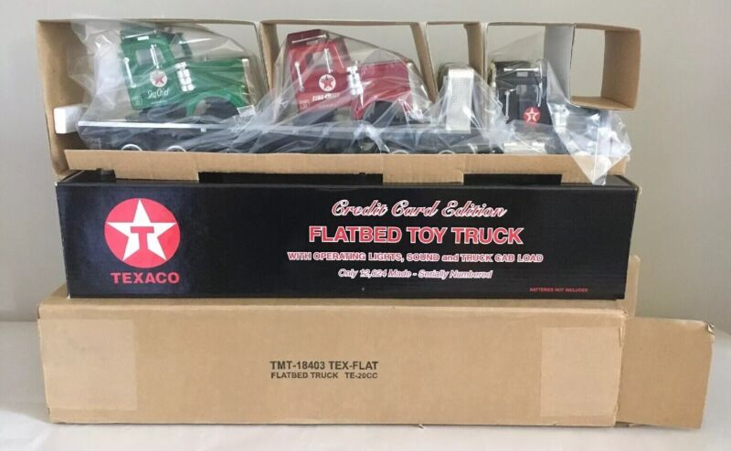 Texaco Flatbed Toy Truck 2000 Taylor Made Trucks 6th in Collectors Series