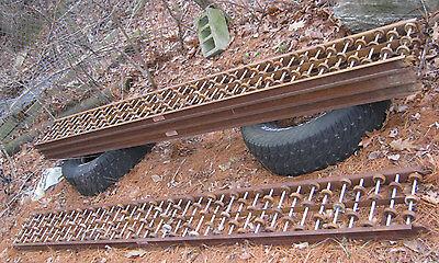 2 2 Industrial Steel Loading Dock Truck Conveyor Roller Castor Wheel Rail Ramp