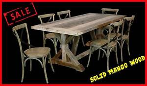 FACTORY DIRECT Rustic Elm 7pce OUTDOOR/INDOOR Setting RRP $2999 Toowoomba Toowoomba City Preview
