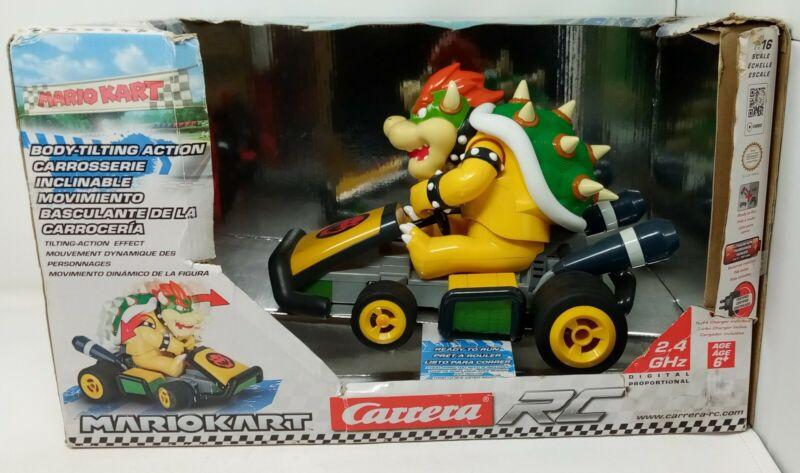 RARE Bowser King Koopa RC Car Cart Mario Kart 7 Carrera 1/16 Scale Damage Box