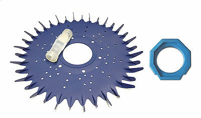 Pool Cleaner Parts Kit Finned Disc Diaphragm Foot Pad For Baracuda G3 G4
