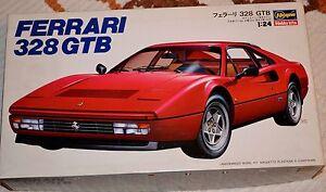 HASEGAWA Ferrari 328 GTB Kit Plastica+FOTOINCISIONI 1:24 (No Tamiya) - Italia - HASEGAWA Ferrari 328 GTB Kit Plastica+FOTOINCISIONI 1:24 (No Tamiya) - Italia