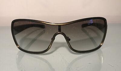Prada Sunglasses SPS 55G 7JO-4M1 125 2N Unisex Metallic Bronze Italy