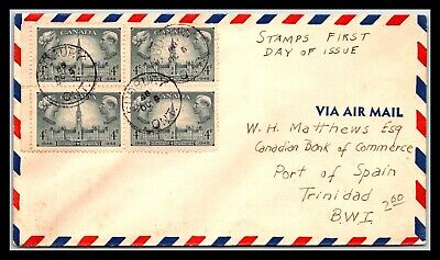 GP GOLDPATH: CANADA COVER 1948 AIR MAIL FIRST DAY OF ISSUE _CV699_P26