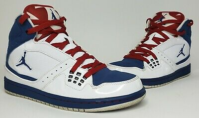 Nike Jordan 1 Flight Red White Blue Mens Basketball Shoes Size 8.5