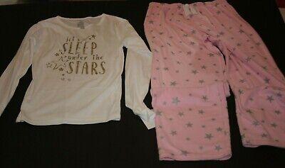 Carter's 14 Jahre Mädchen 2-tlg Pyjama Schlafanzüge Top & Hose Schlaf Unter (Unter Fleece-hose)