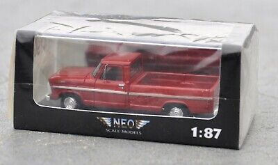 NEO 1:87 scale model Ford F series pickup - NEO87565 never opened MINT