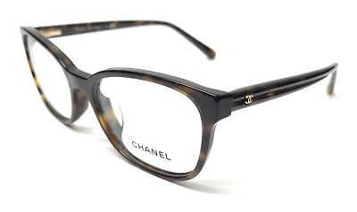 NEW CHANEL 3313-A 714 TORTOISE EYEGLASSES AUTHENTIC FRAME ITALY 54-17
