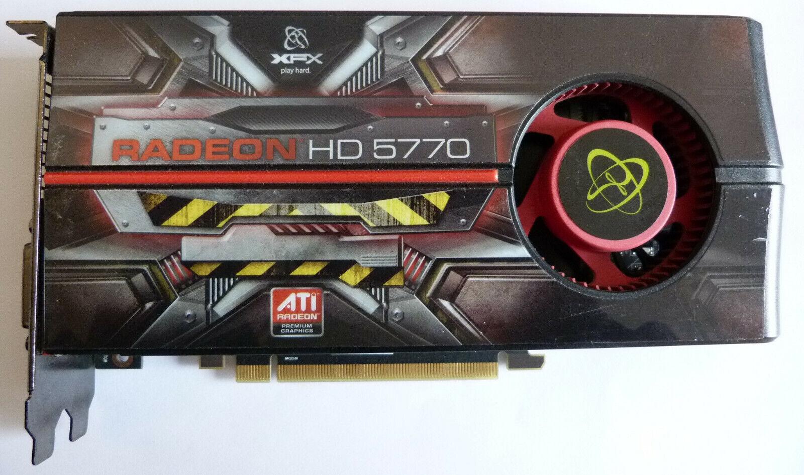 XFX ATI Radeon HD 5770 1GB DDR5 PCI-E Grafikkarte