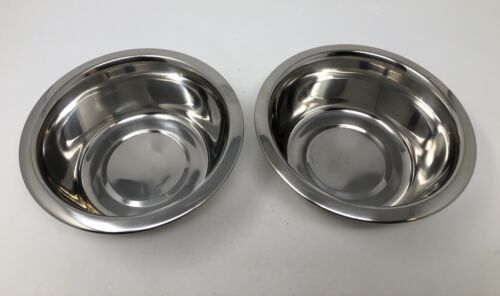 BOOTS & BARKLEY SMALL DOG CAT PET FOOD WATER DISH NON SLIP STAINLESS STEEL