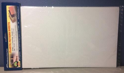 "JTT SCENERY 97458 TREAD PLATE 1:24 G SCALE ( 2) 7.5"" x 12"" SHEETS  JTT97458"