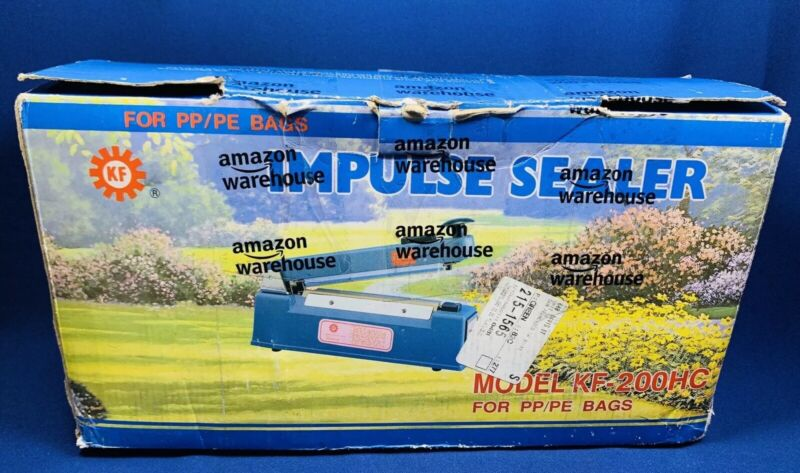 """BOX USA BSPBC8 Impulse Hand Sealers with Cutters, 8"""" x 1/16"""""""