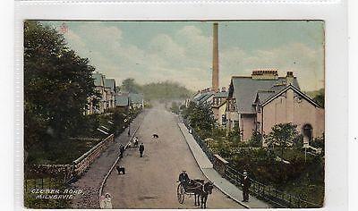 CLOBER ROAD, MILNGAVIE: Dunbartonshire postcard (C26886)