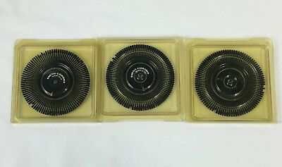 Three 3 Vintage Smith-corona Print Wheelsscript 1012 - Tempo10 - Regency 10