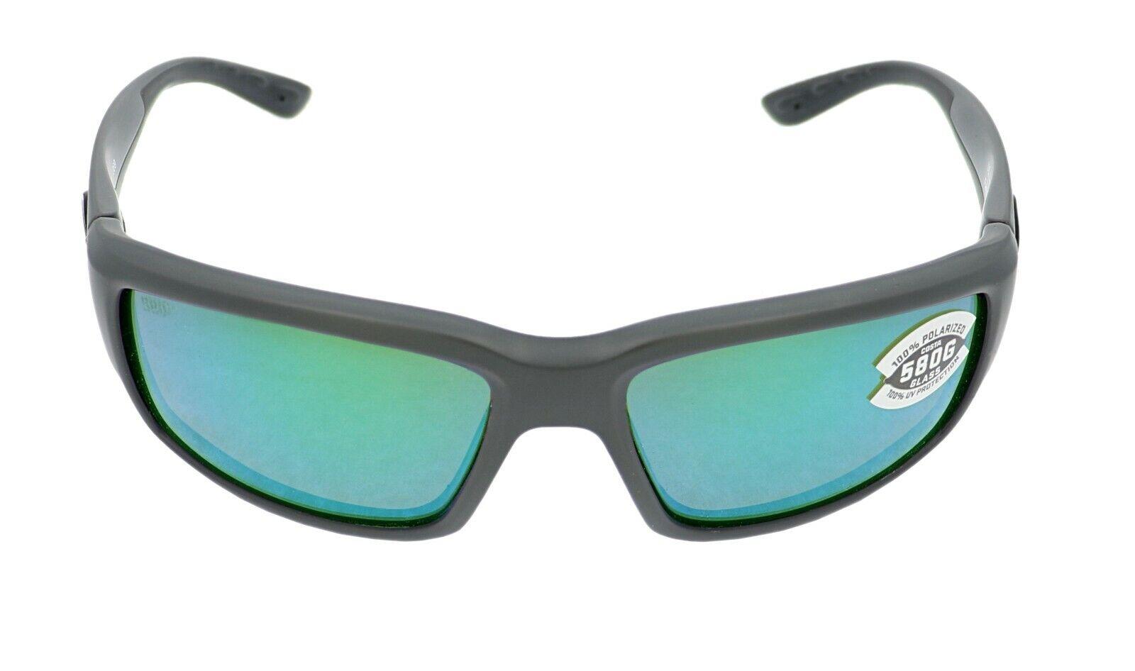 Costa Del Mar FANTAIL Green Mirror Sunglasses 580G Glass TF 11 OGMGLP