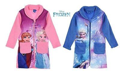Disney Frozen Bademantel Die Eiskönigin Gr. 104, 110, 116, 128 pink und (Die Frozen Disney)