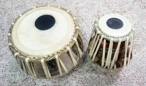 Music Teacher Played Tabla Set: *ITEM LOCATED IN New Jersey/NY USA* Indian Drum