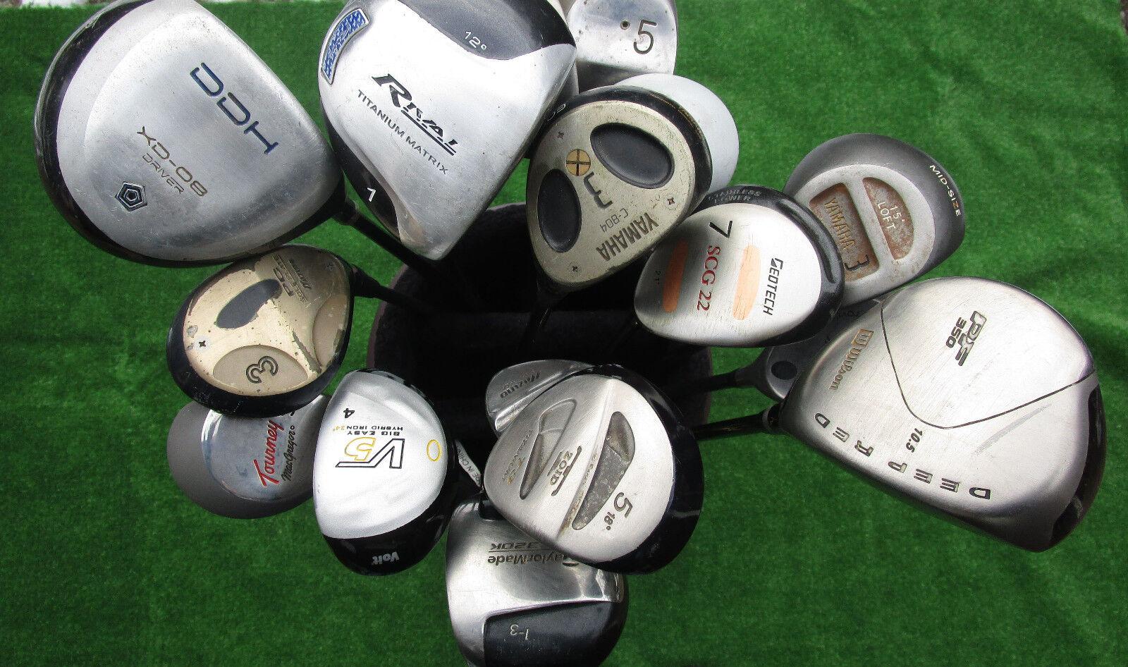Golfschläger Crossgolfschläger Holz 1 Holz 3 Holz 4 Holz 5 Holz 7 auswählbar