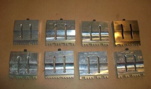 8pc  Branson Ultrasonic Weld Horn Assortment